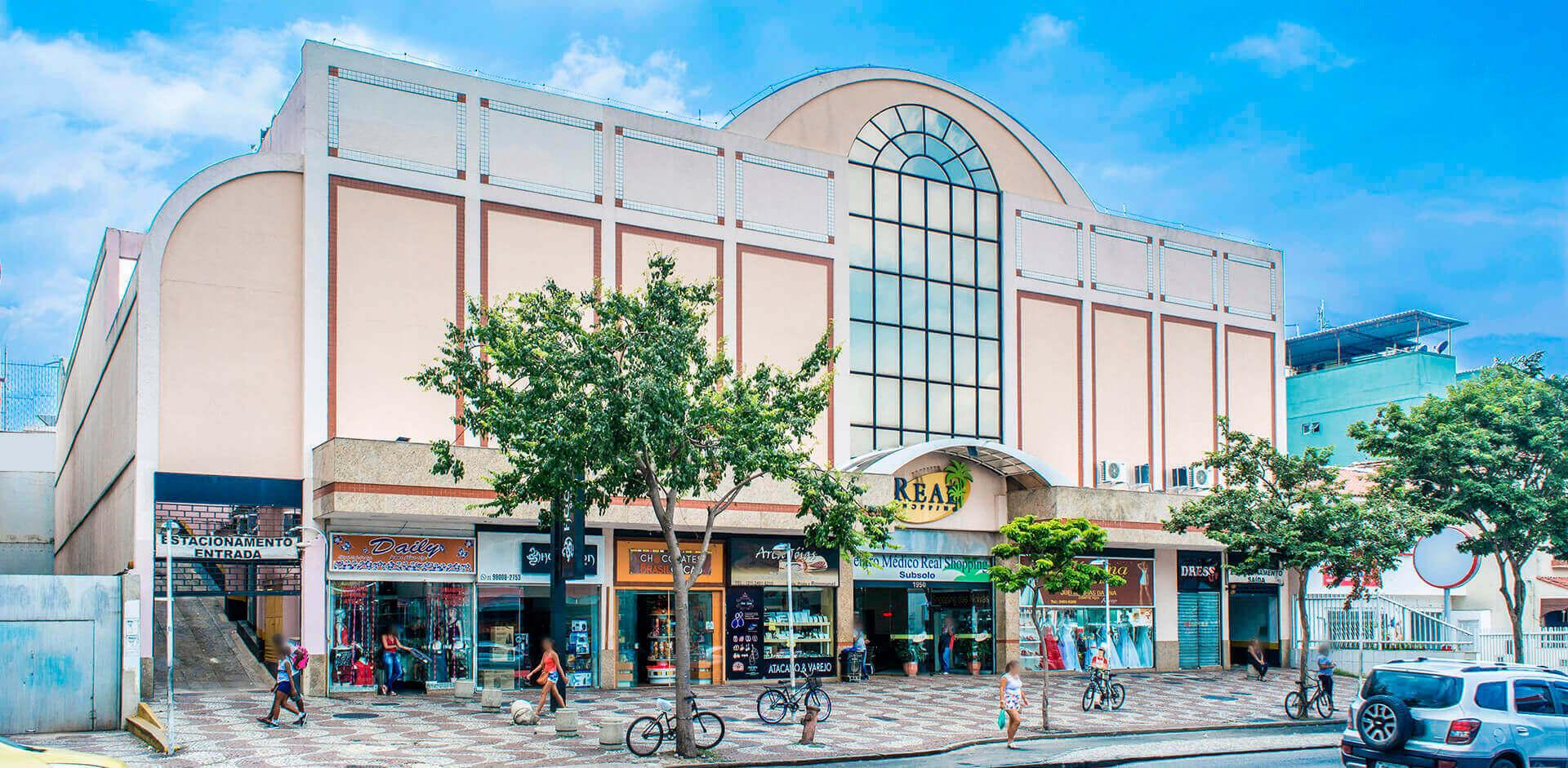 Bem-vindo ao site do Real Shopping Bangu.